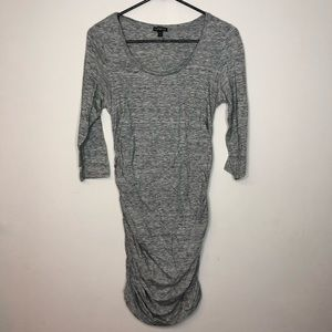 Sexy Express Dress with Ruching